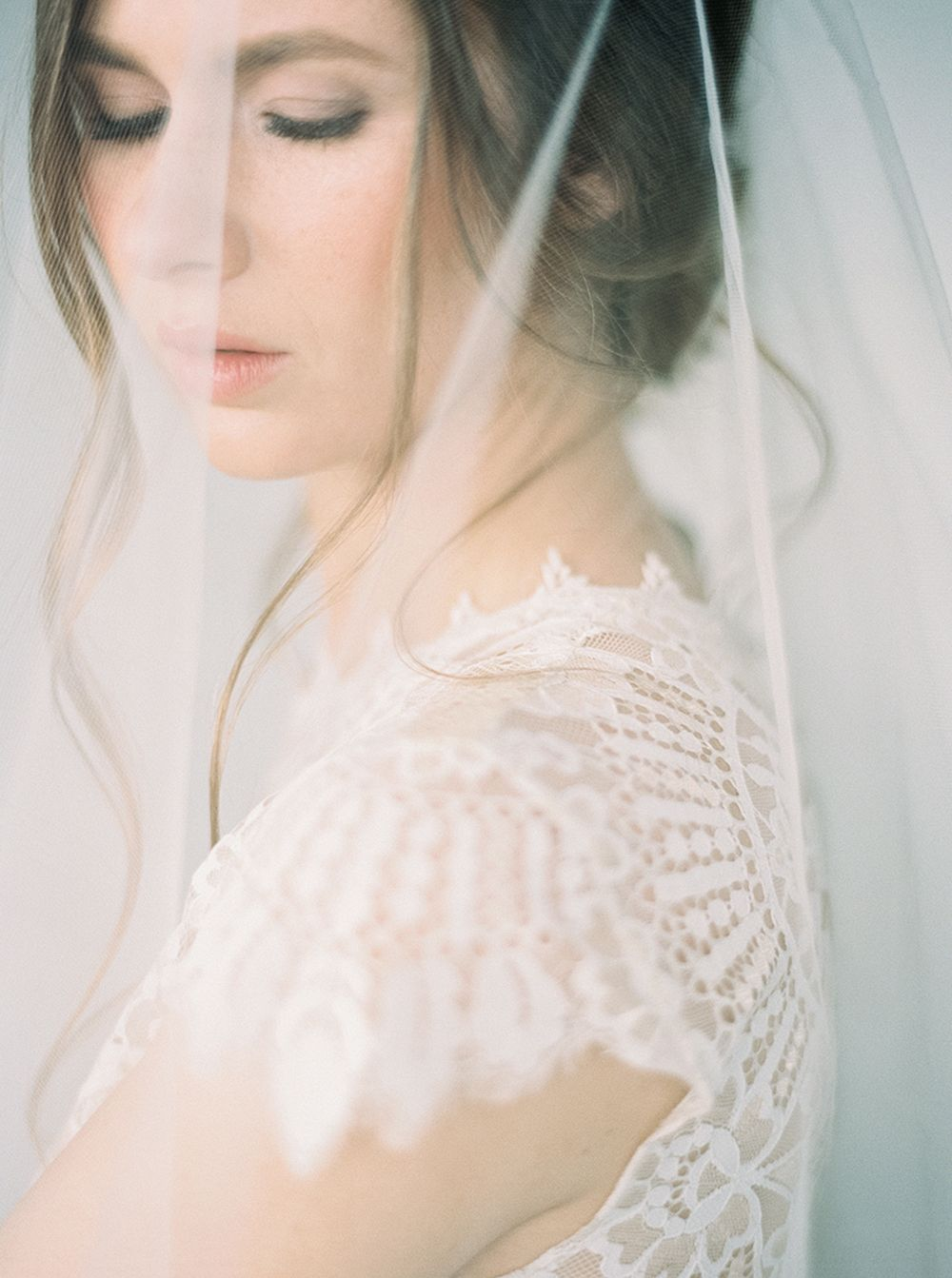 Ethereal Wedding Dress.Ethereal Bridal Style With A Clean Minimal Aesthetic By Luna De