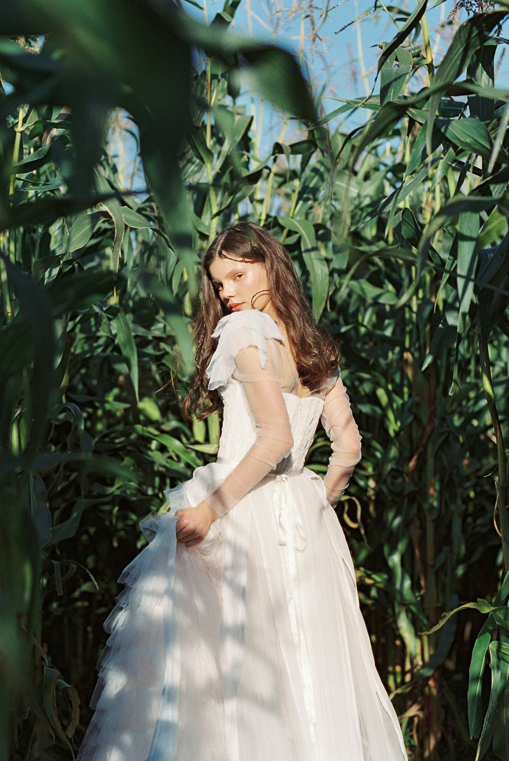 Romantic and Bohemian Wedding Gowns by Olesia Lazareva | Wedding ...
