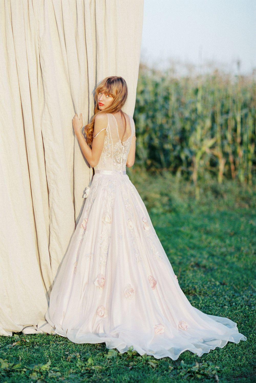 Romantic and Bohemian Wedding Gowns by Olesia Lazareva   Wedding ...