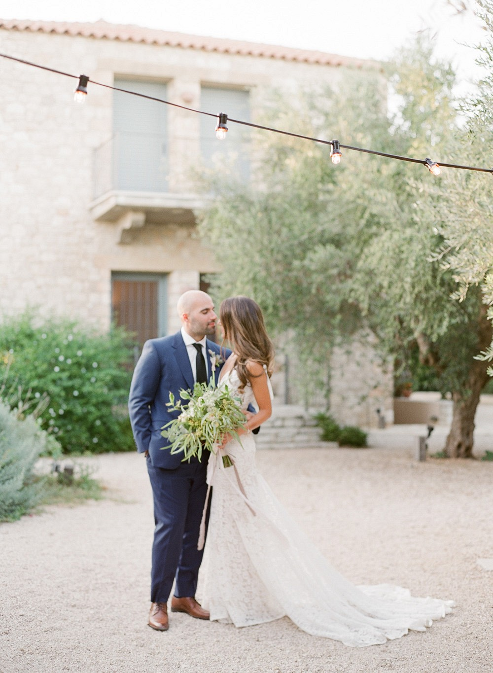 Lush Green Greek Destination Wedding