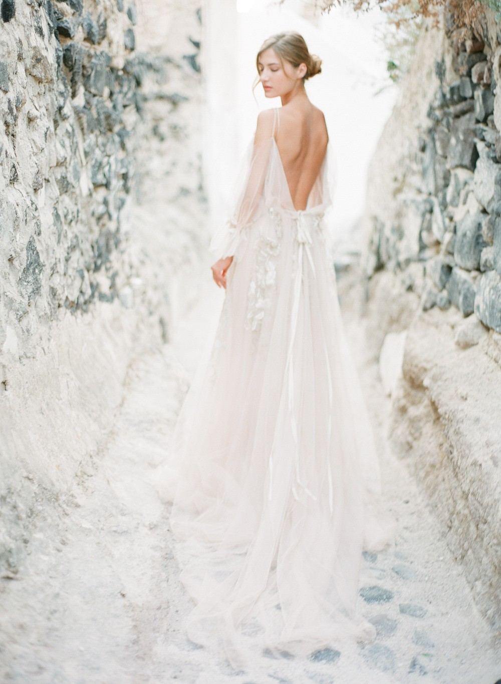 Angelic Bridal Session in Greece