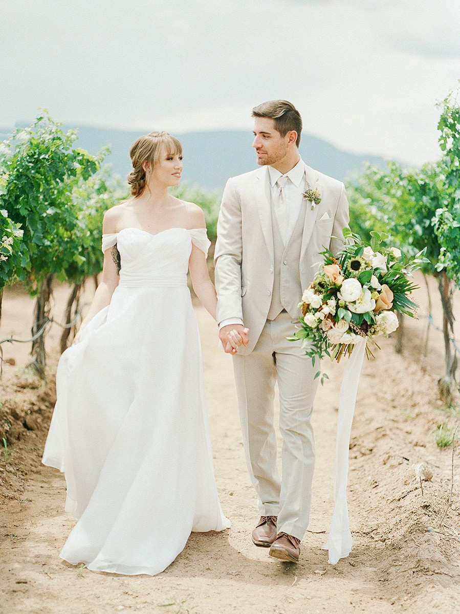 Traditional, Autumnal Wedding Inspiration in Arizona