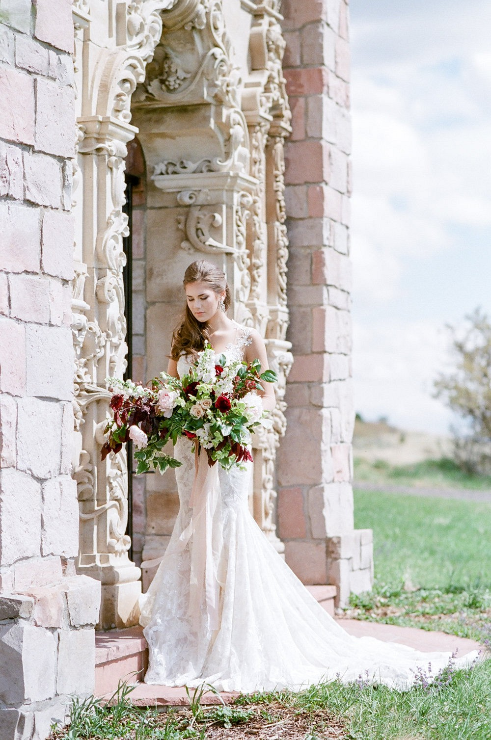 Lace Galia Lahav Wedding Gown