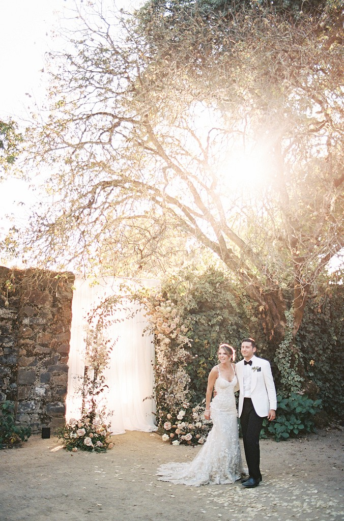 California Winery Real Wedding