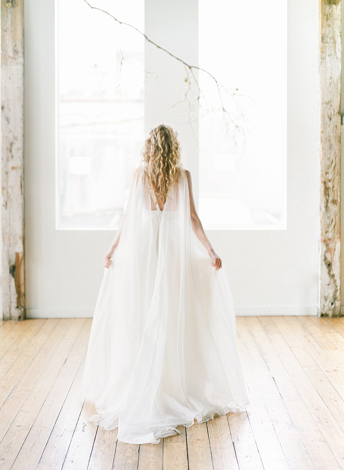 Contemporary Swan Lake Bridal Inspiration