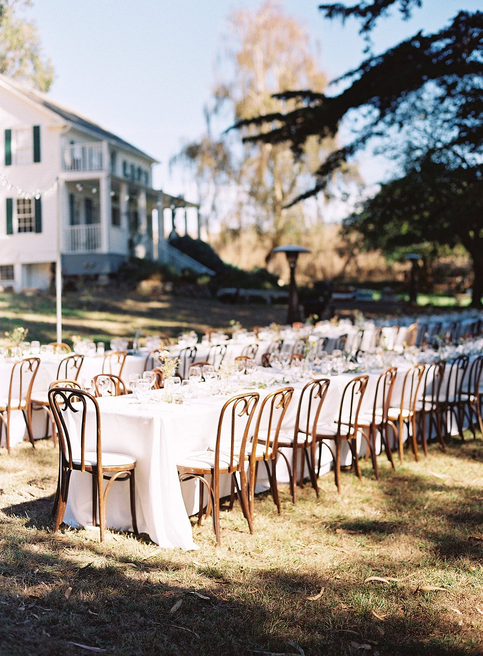 Lauren and Chris' Laid Back Outdoor Wedding