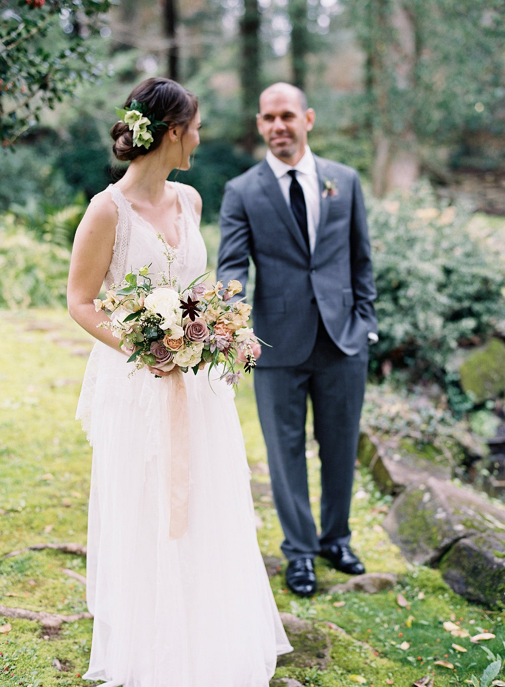 Hannah and Matt's Intimate Garden Wedding at Serenbe