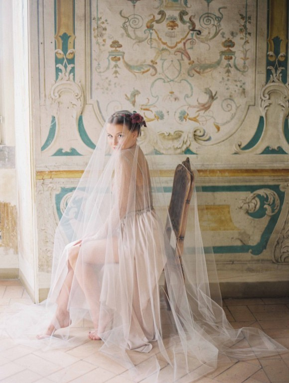Getting ready shot | Elegant Destination Real Wedding in Rome Italy by Erich McVey on Wedding Sparrow