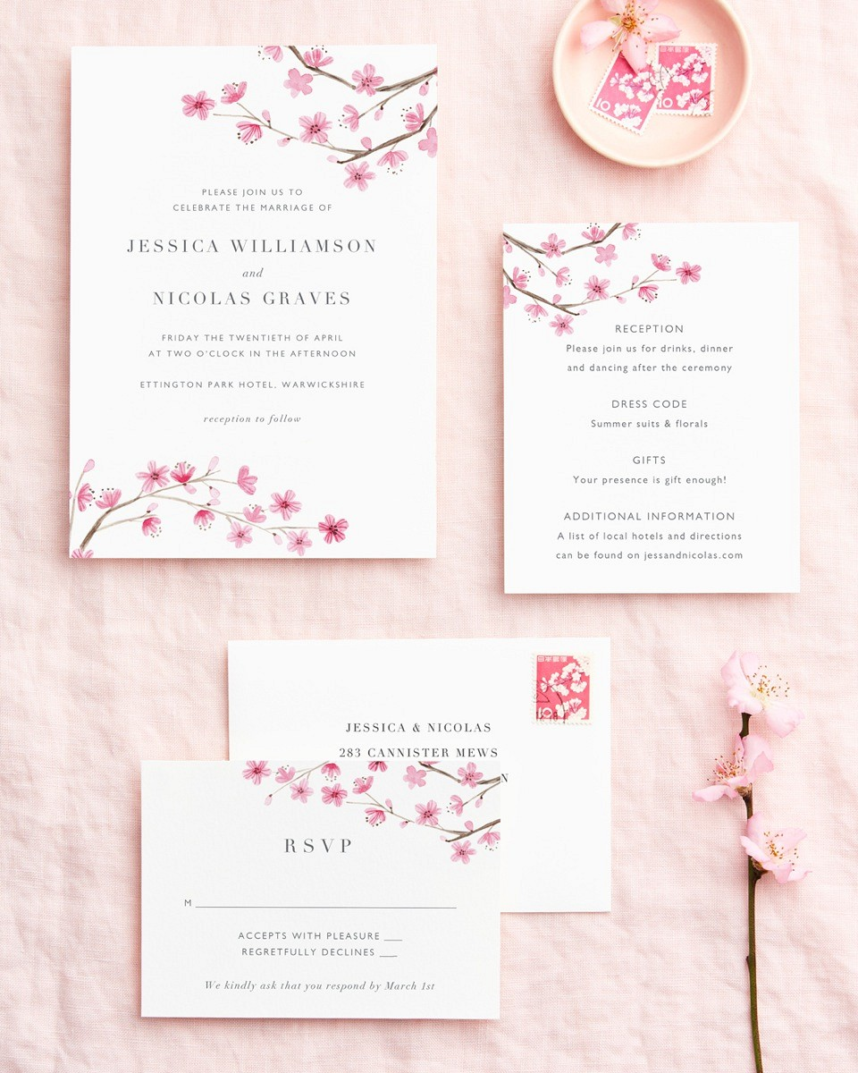Beautiful Wedding Stationery by Papier