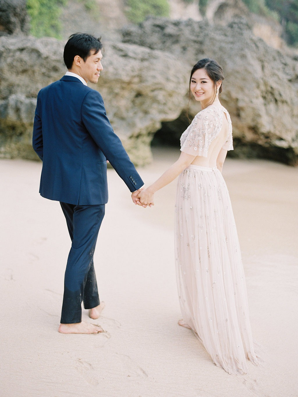 Mia and David's Cliff Top Wedding in Bali