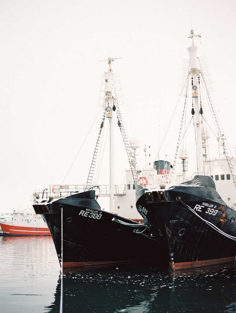 Whaling boats - Reykjavik, Iceland - Brumley & Wells
