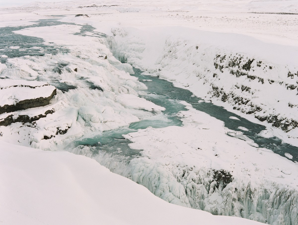 GULLFOSS WATERFALL - Iceland - Brumley & Wells