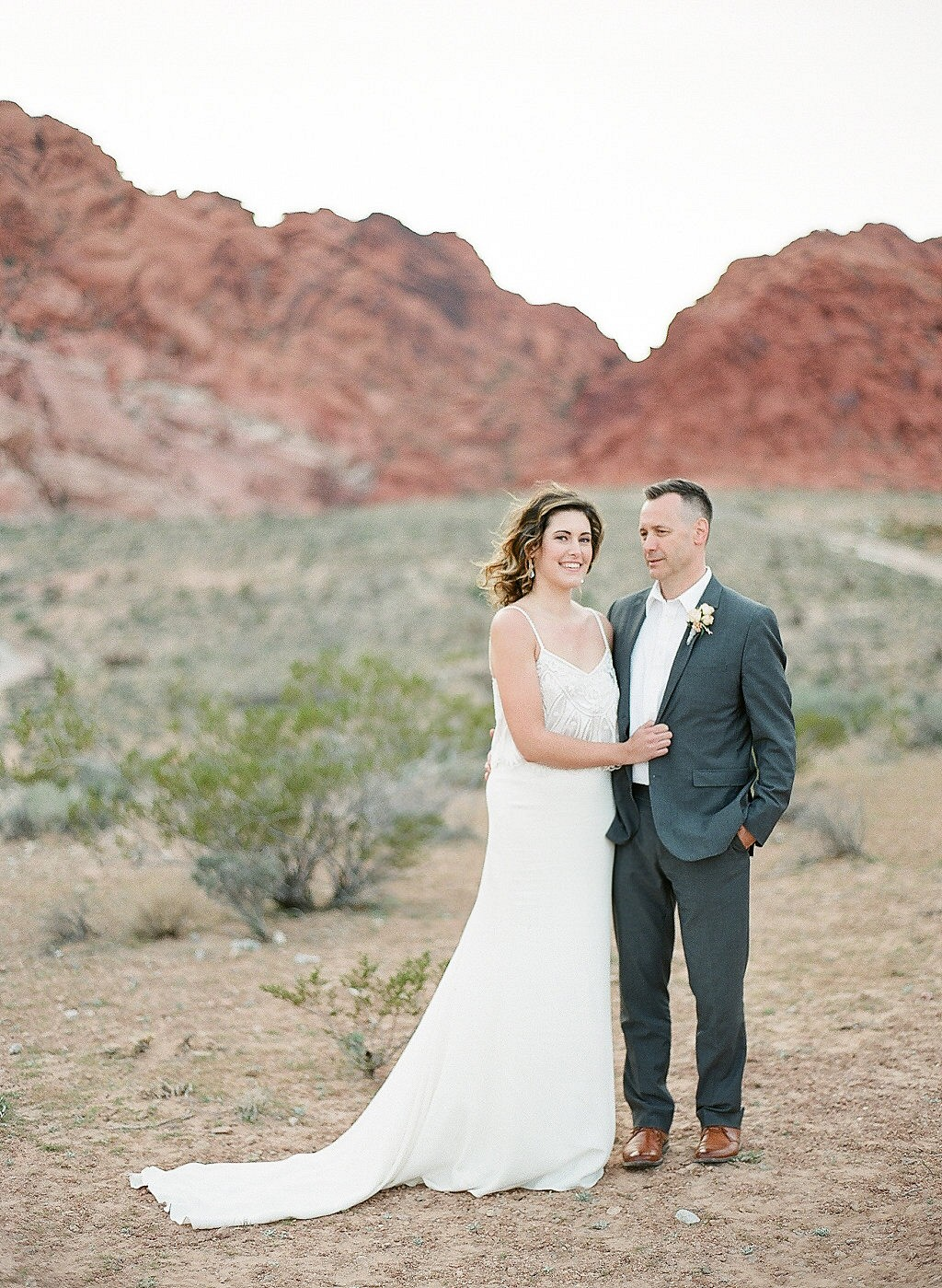 Simple and Elegant Real Elopement