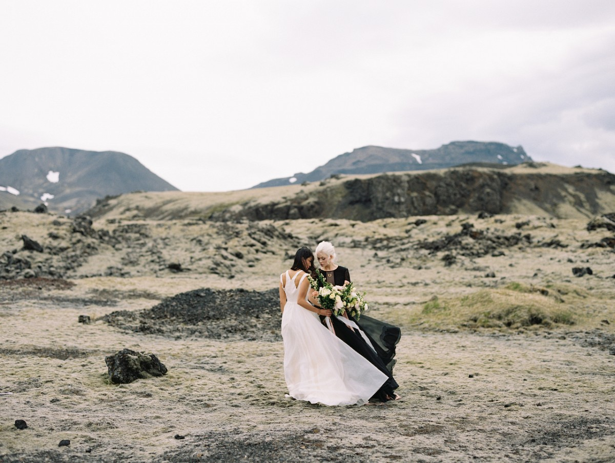 Wabi Sabi Icelandic Wedding Inspiration from Reckless North