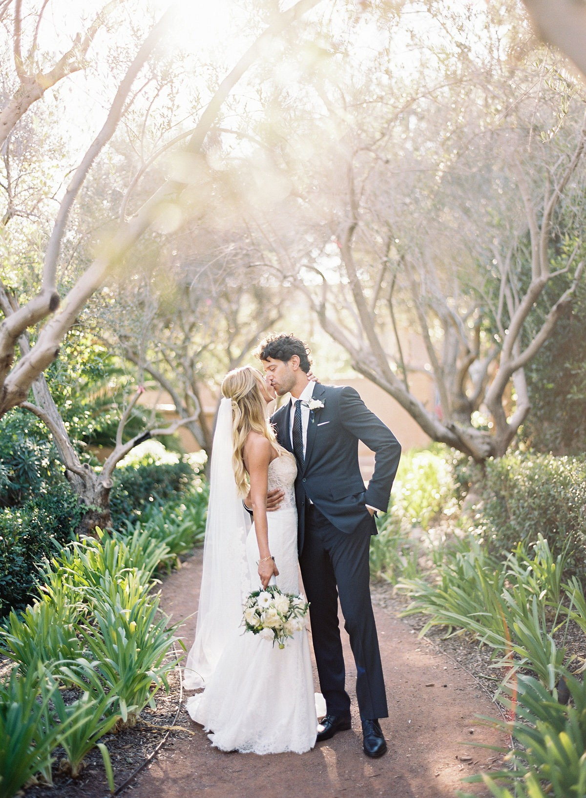 9329f0377e9 White and Natural Green Southern California Real Wedding by Ashley ...