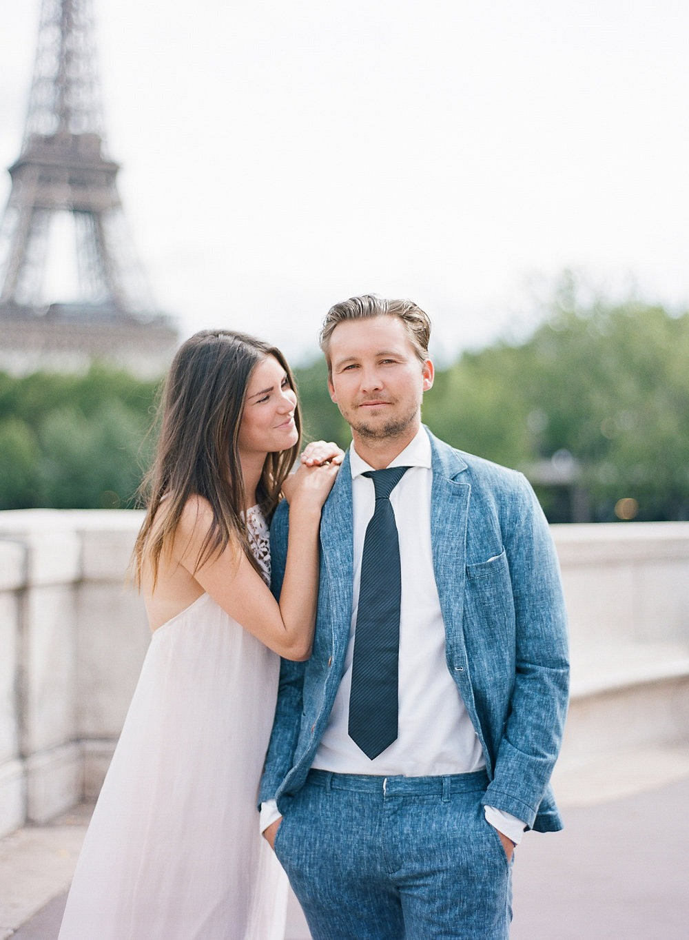 A Parisian couples' session