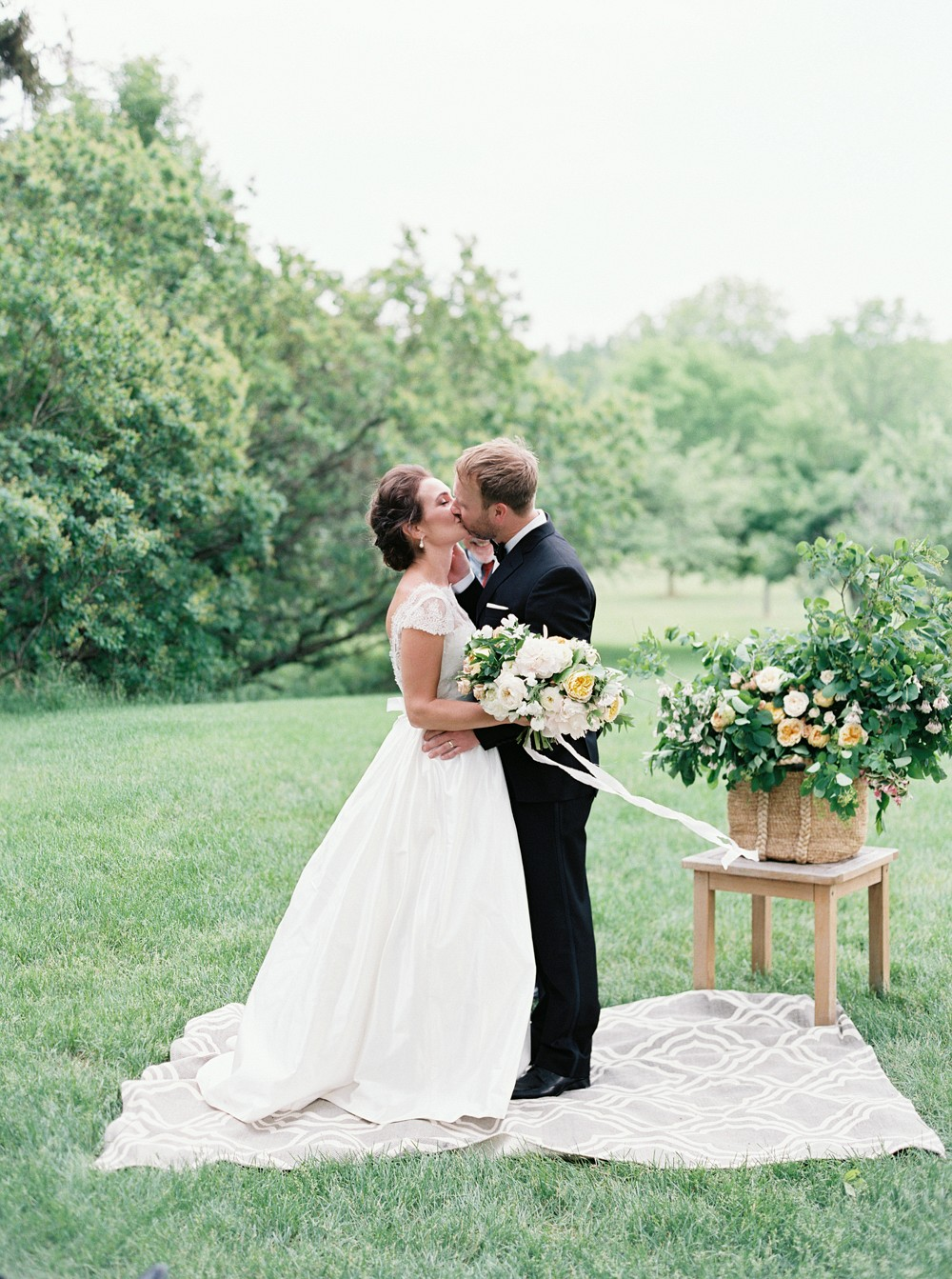 Sophisticated Real Wedding in Ontario by When He Found Her on Wedding Sparrow