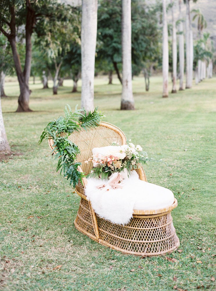 Boho Ranch Wedding in Hawaii