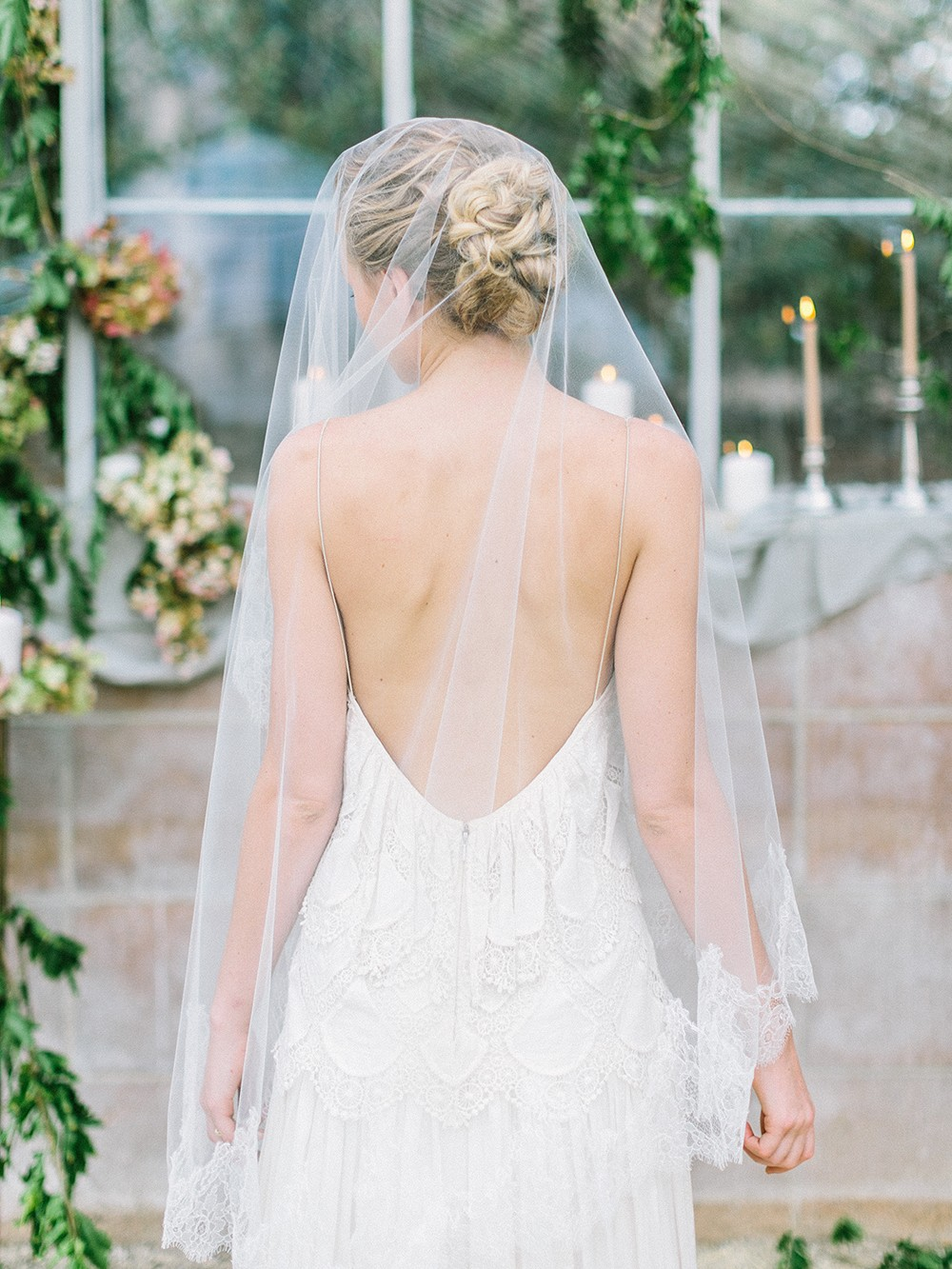 Romantic Bridal inspiration in Citrus Tones