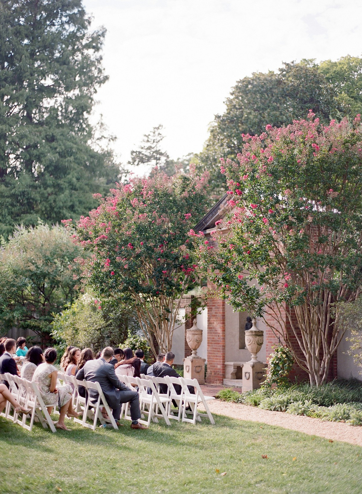 Sammi and Gary's Classic Black Tie Garden Wedding