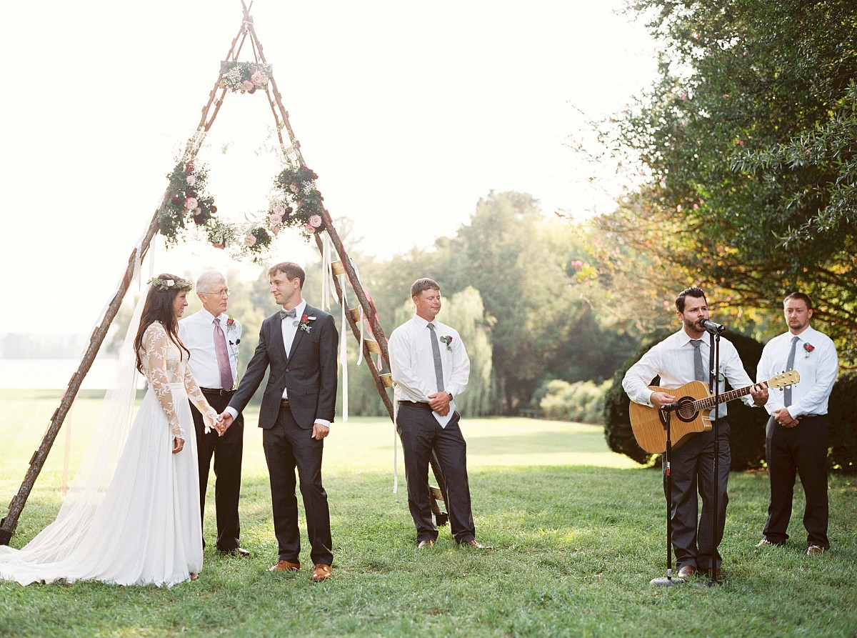 Anne-Claire and Chad's Luxe Bohemian Outdoor Wedding