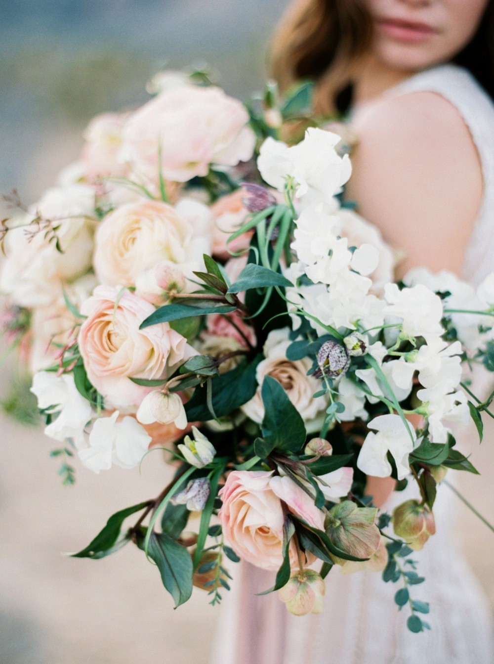 Neutral Blush, Taupe, and Ivory Wedding Palette Inspiration
