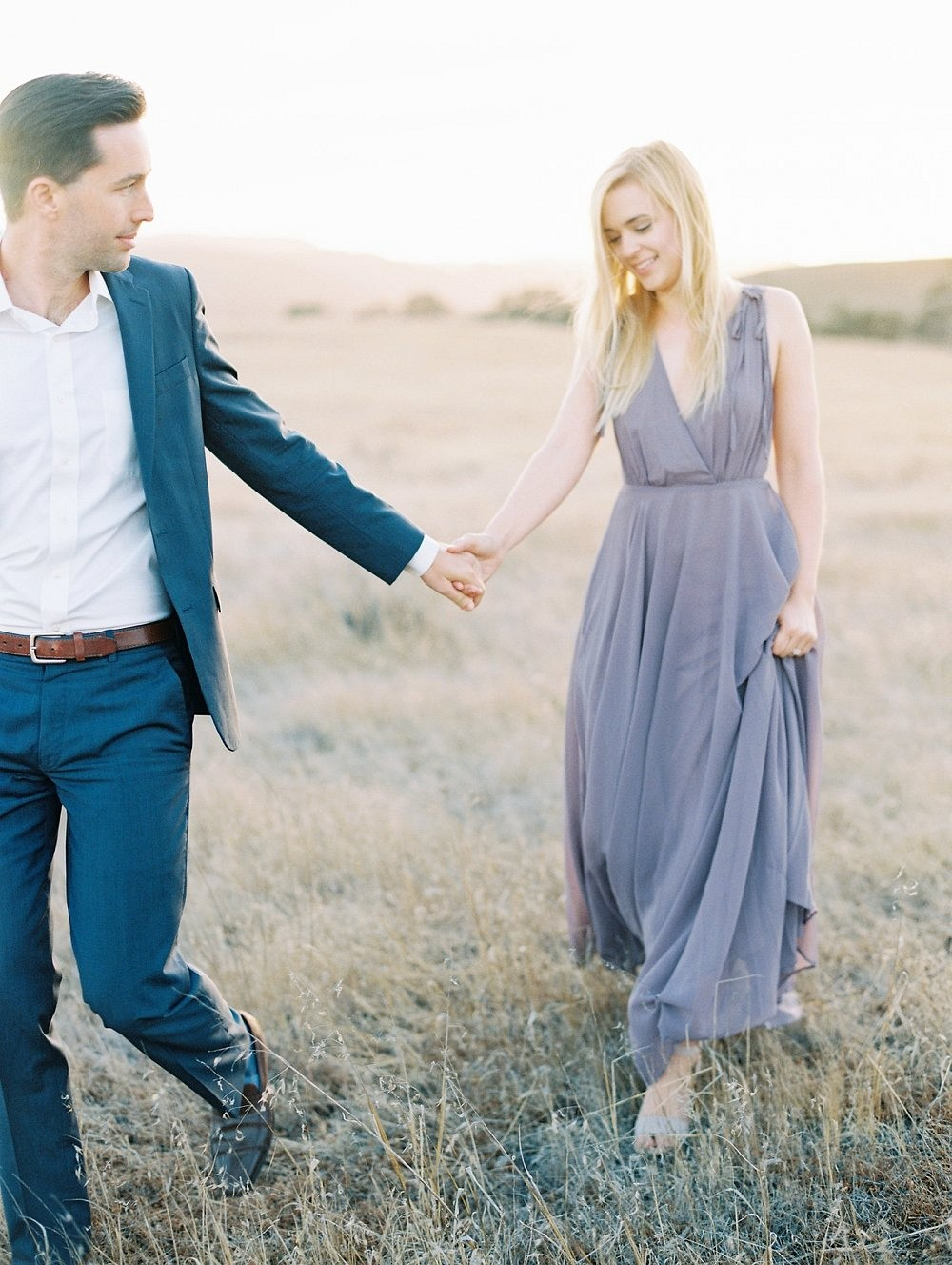 Sunset Engagement Session at Kestrel Park