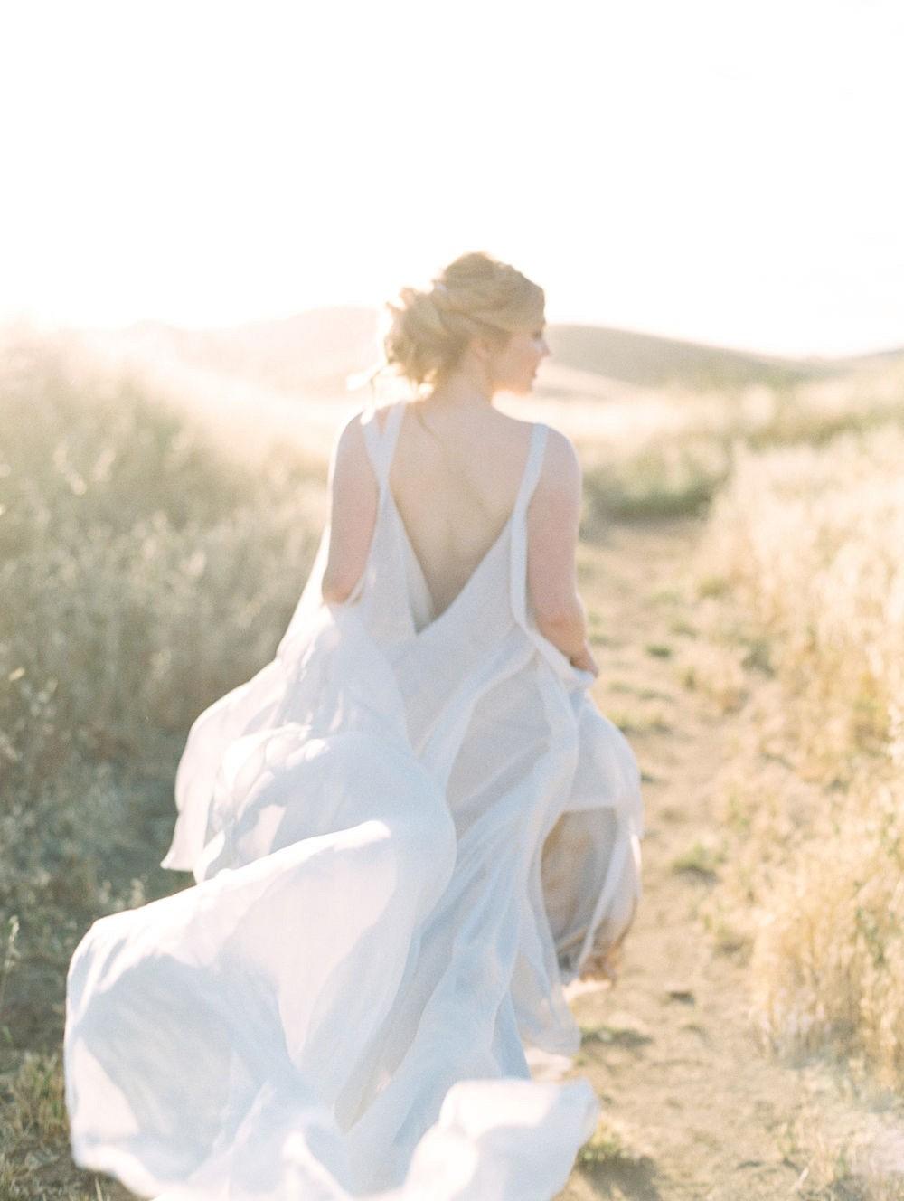 Natural Californian Bridals in Carol Hannah gown