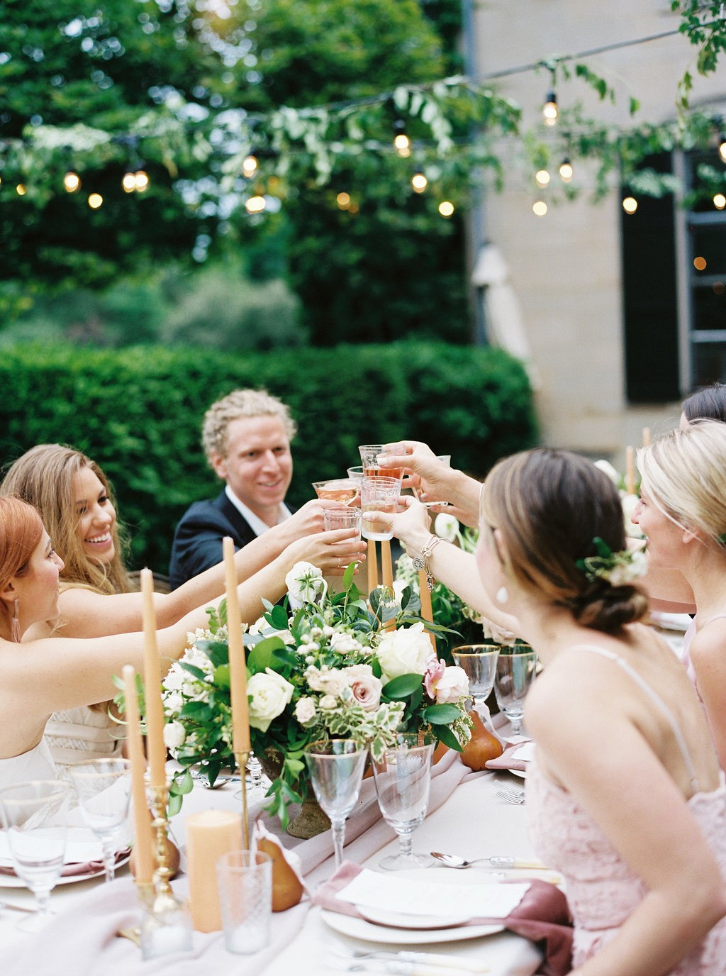 How to Have a Luxe At Home Wedding