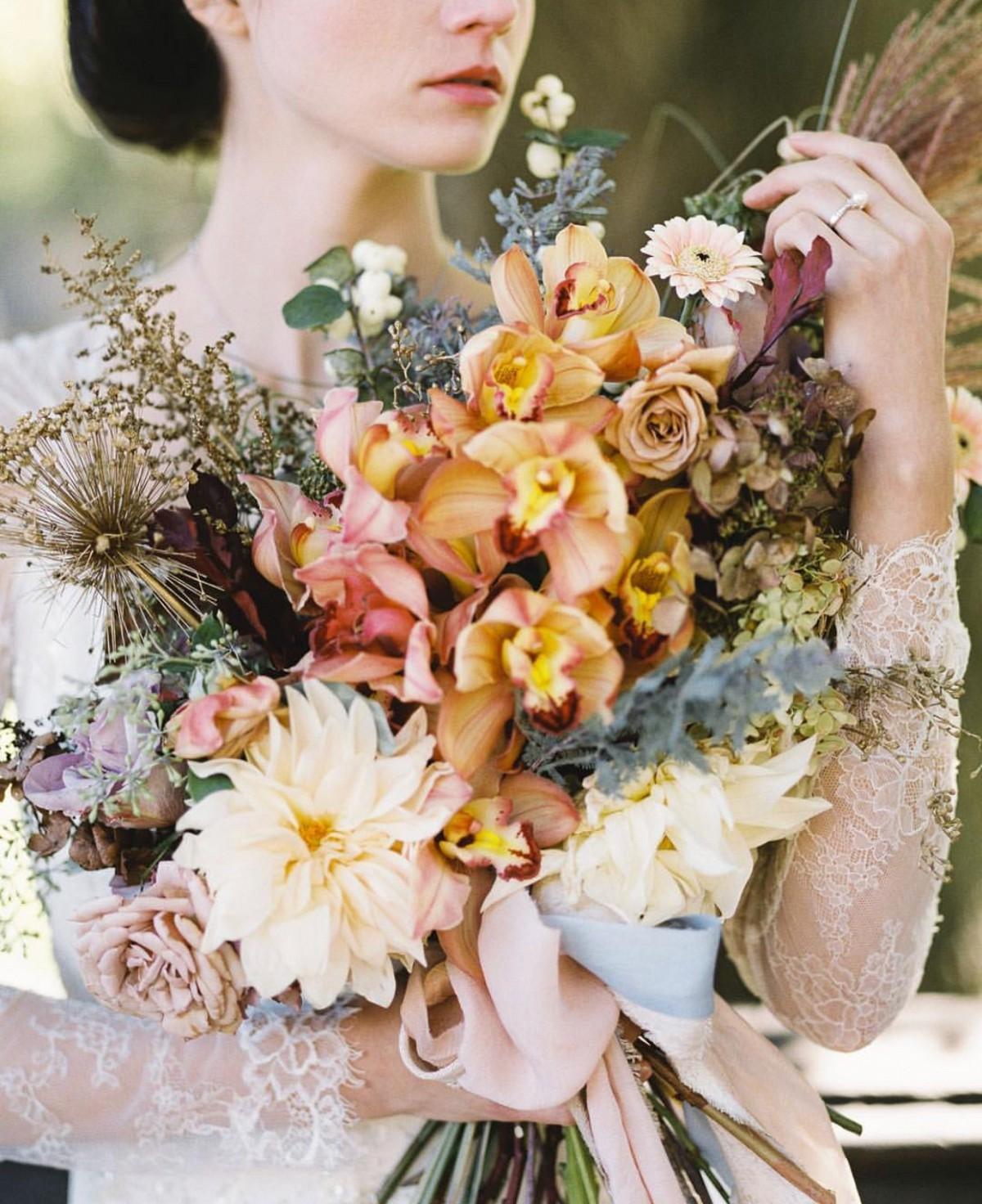 Winter Bouquet for the Fine Art Bride