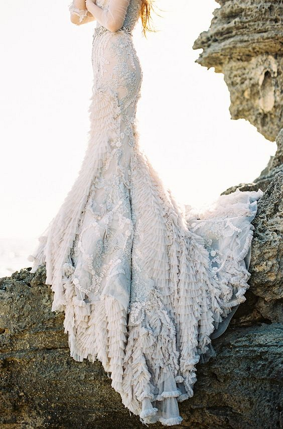 Best 25 Colored Wedding DResses for the Fine Art Bride - Feather & Stone Photography