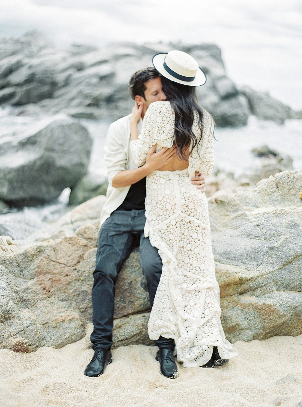 Edgy Wedding Style on Banks of Costa Brava