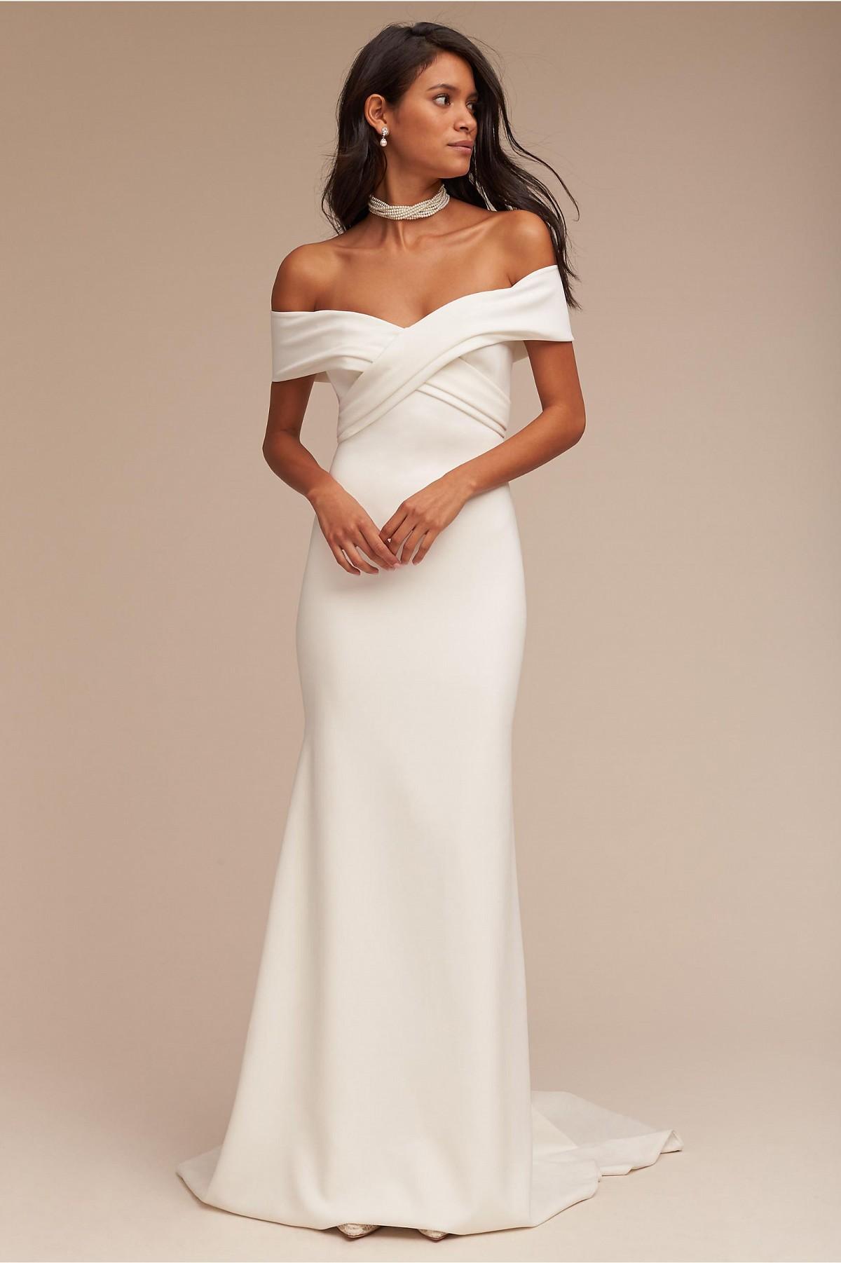 Meghan Markle inspired wedding dresses