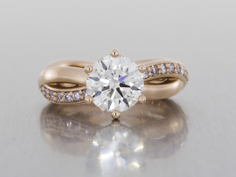 Durham Rose engagement rings