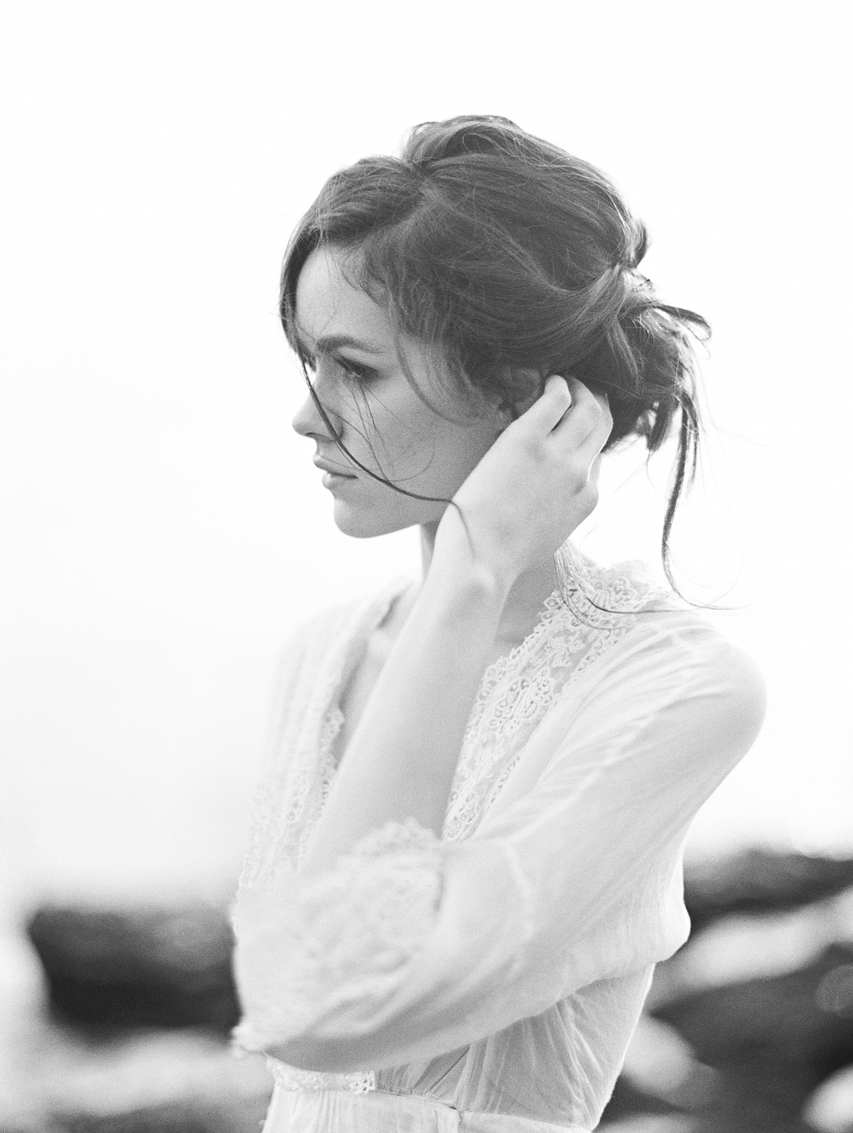Ethereal and Romantic Bridal Style Inspiration by Christine Clark on Wedding Sparrow