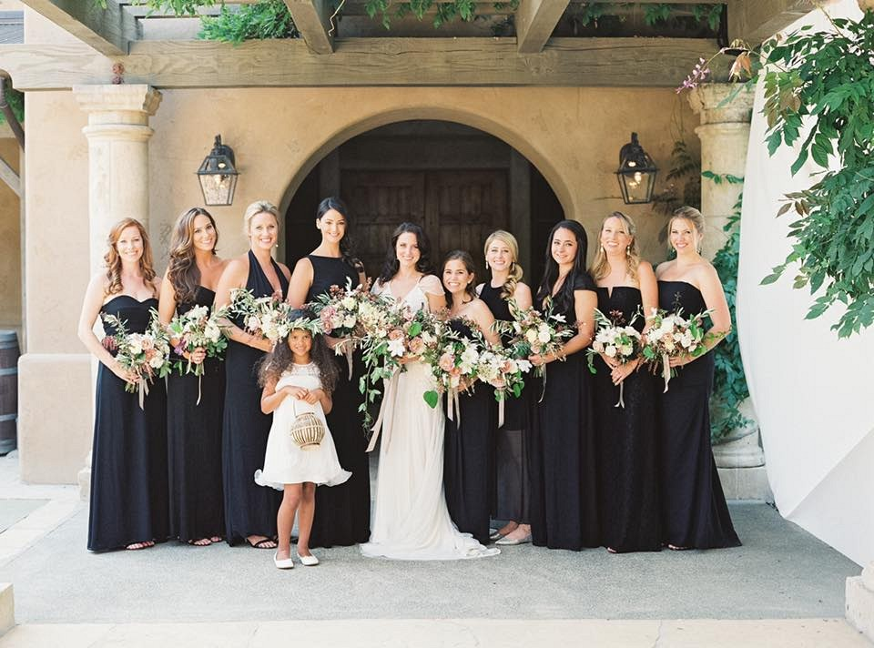 Michele Beckwith - Black Bridesmaids dresses