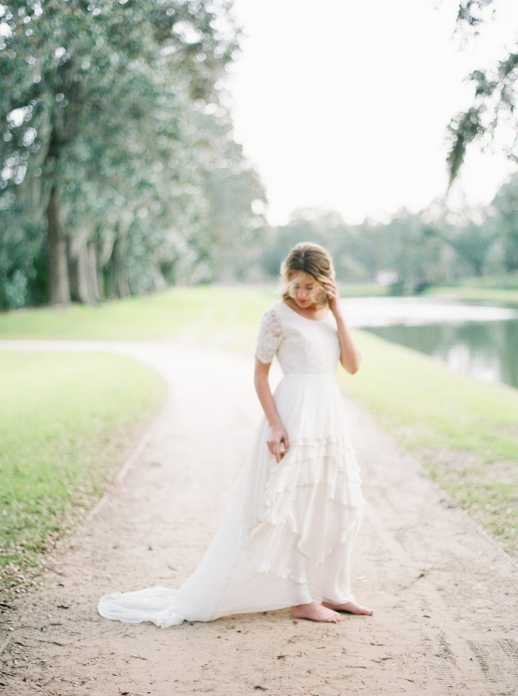 Rustic Countryside Bridal Session