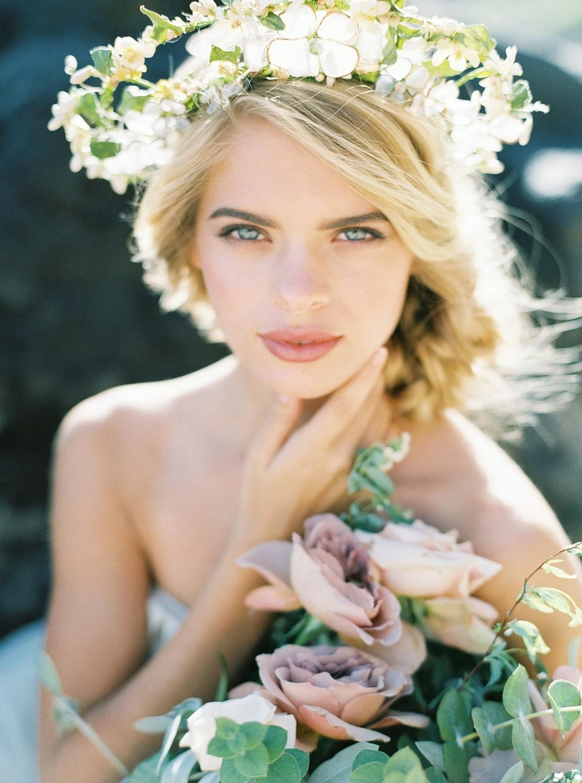 Majestic Sunrise Bridal Session on the Hawaiian Coast