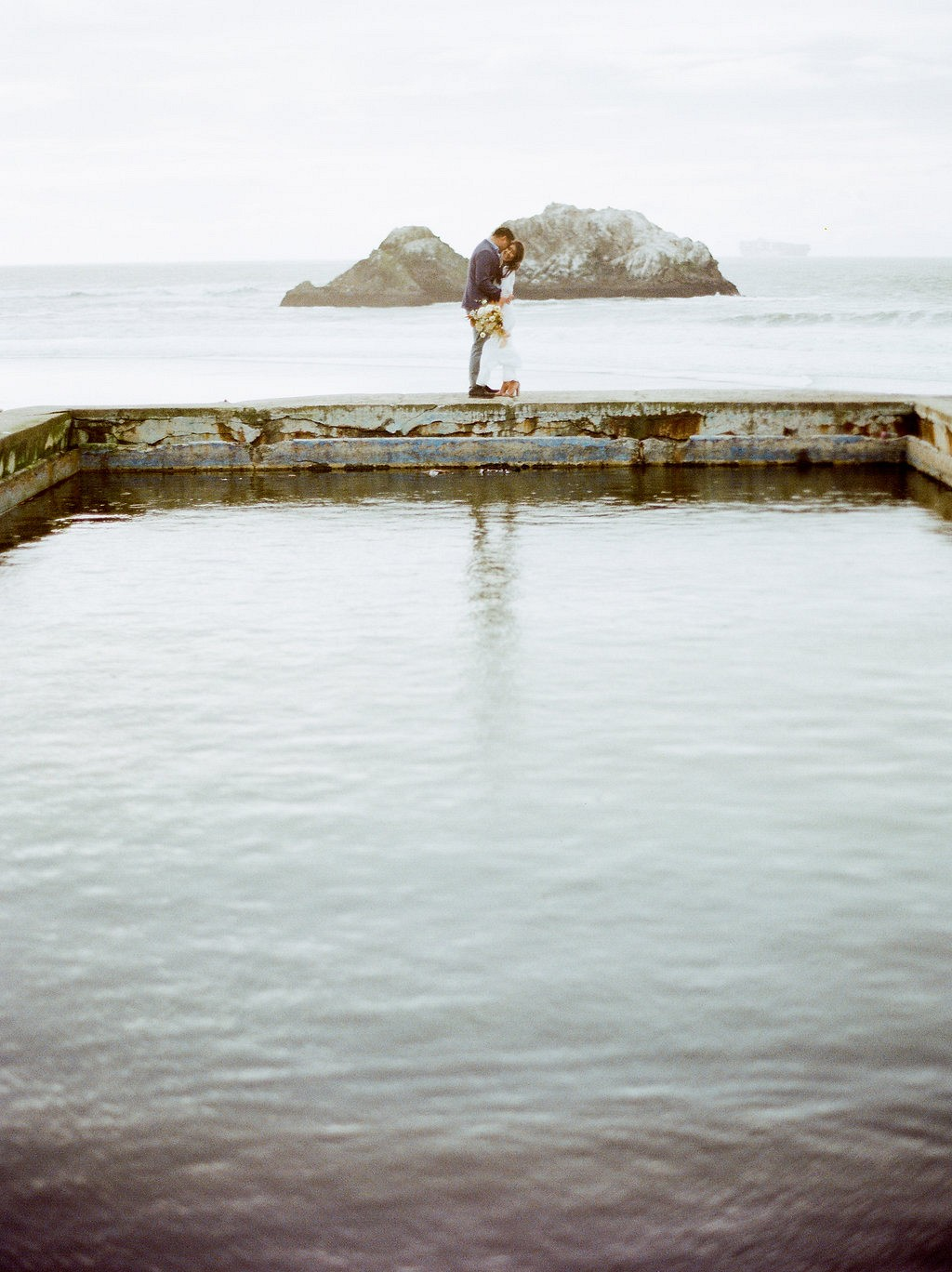 Sutro Baths and Legion of Honor Engagement Session