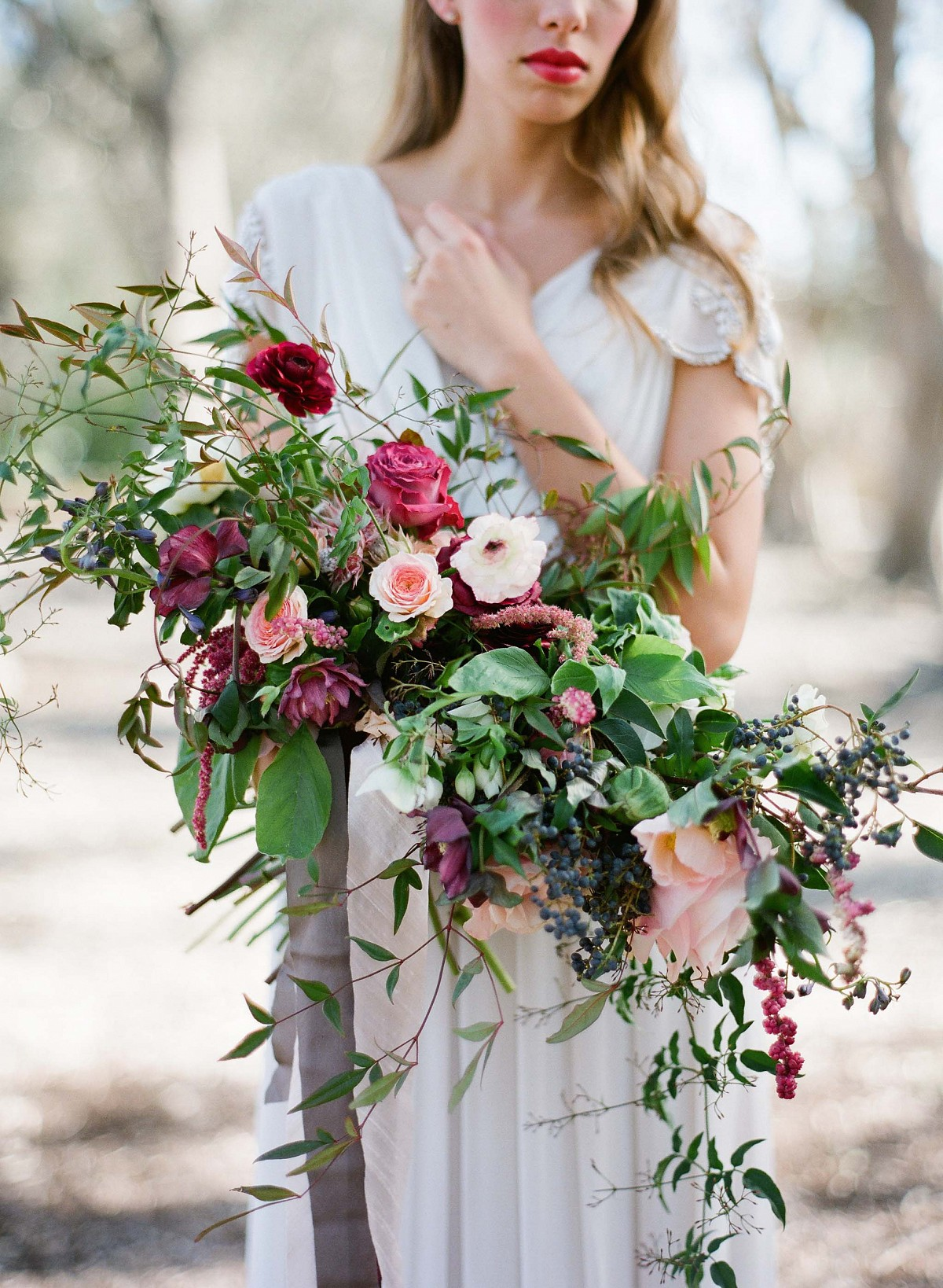 Floral Arbor Ceremony Decor