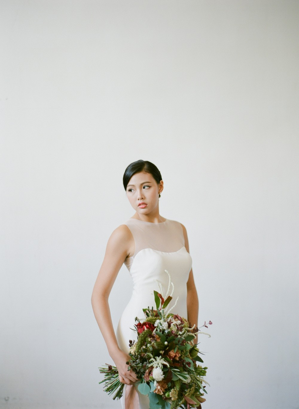Minimalist Bridal Inspiration in Singapore
