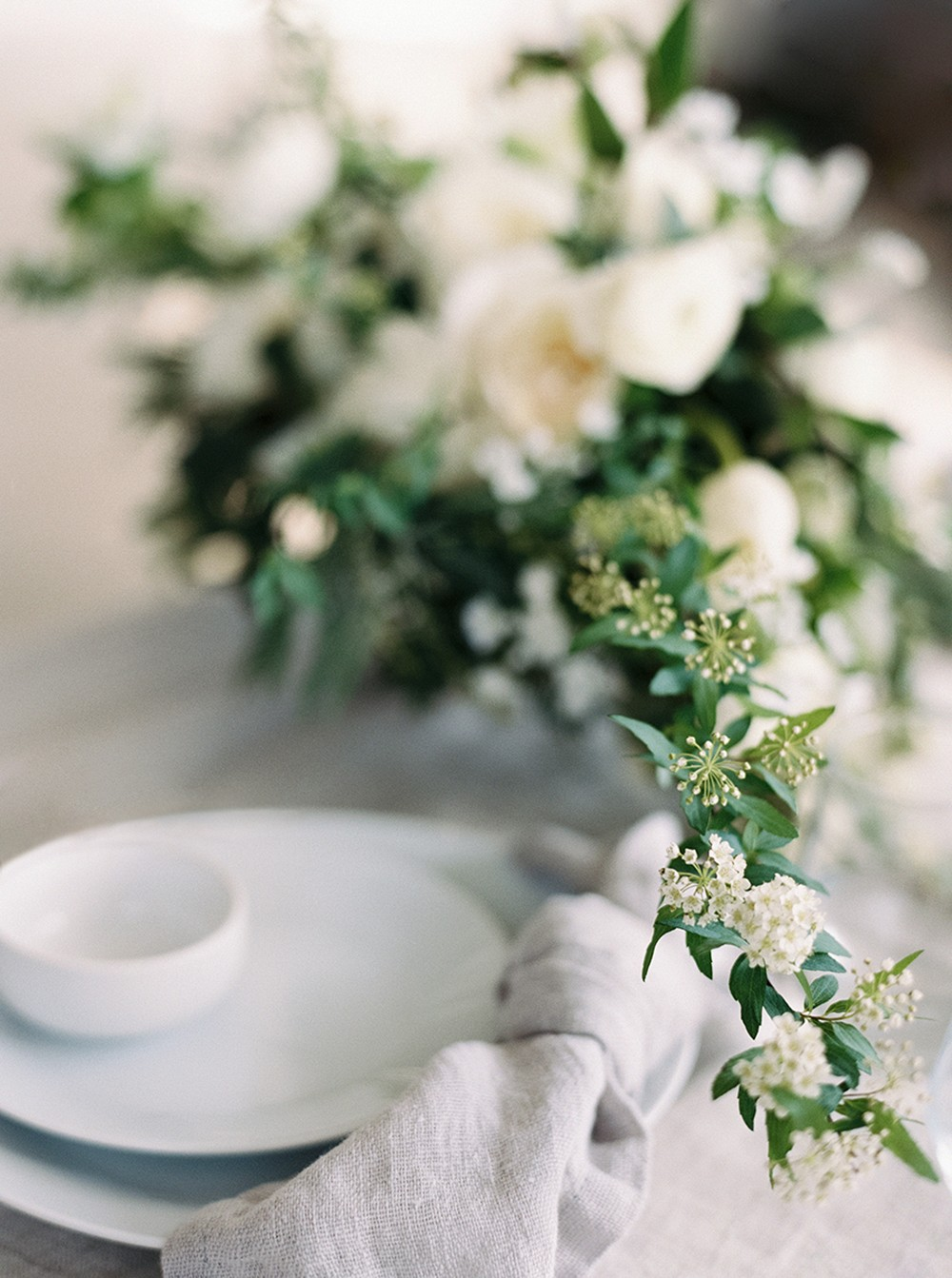 Ethereal Bridal Style With A Clean Minimal Aesthetic By
