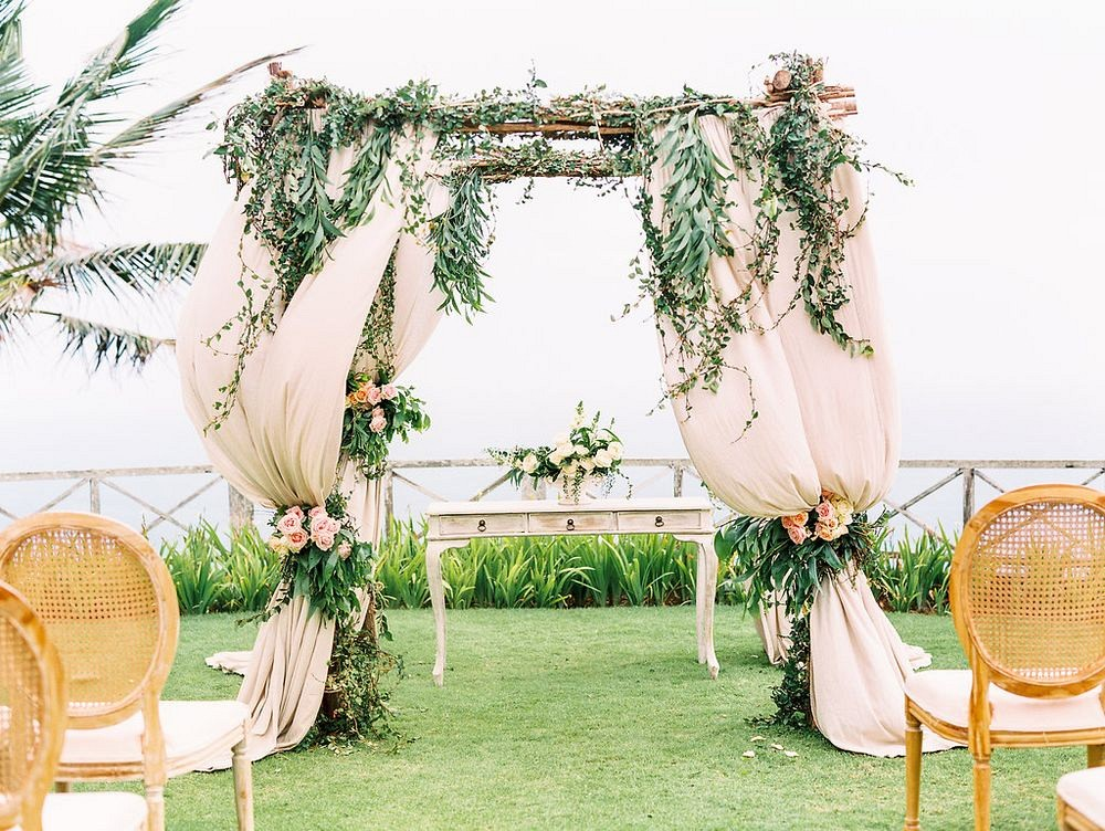 Romantic and Soft Bali Wedding