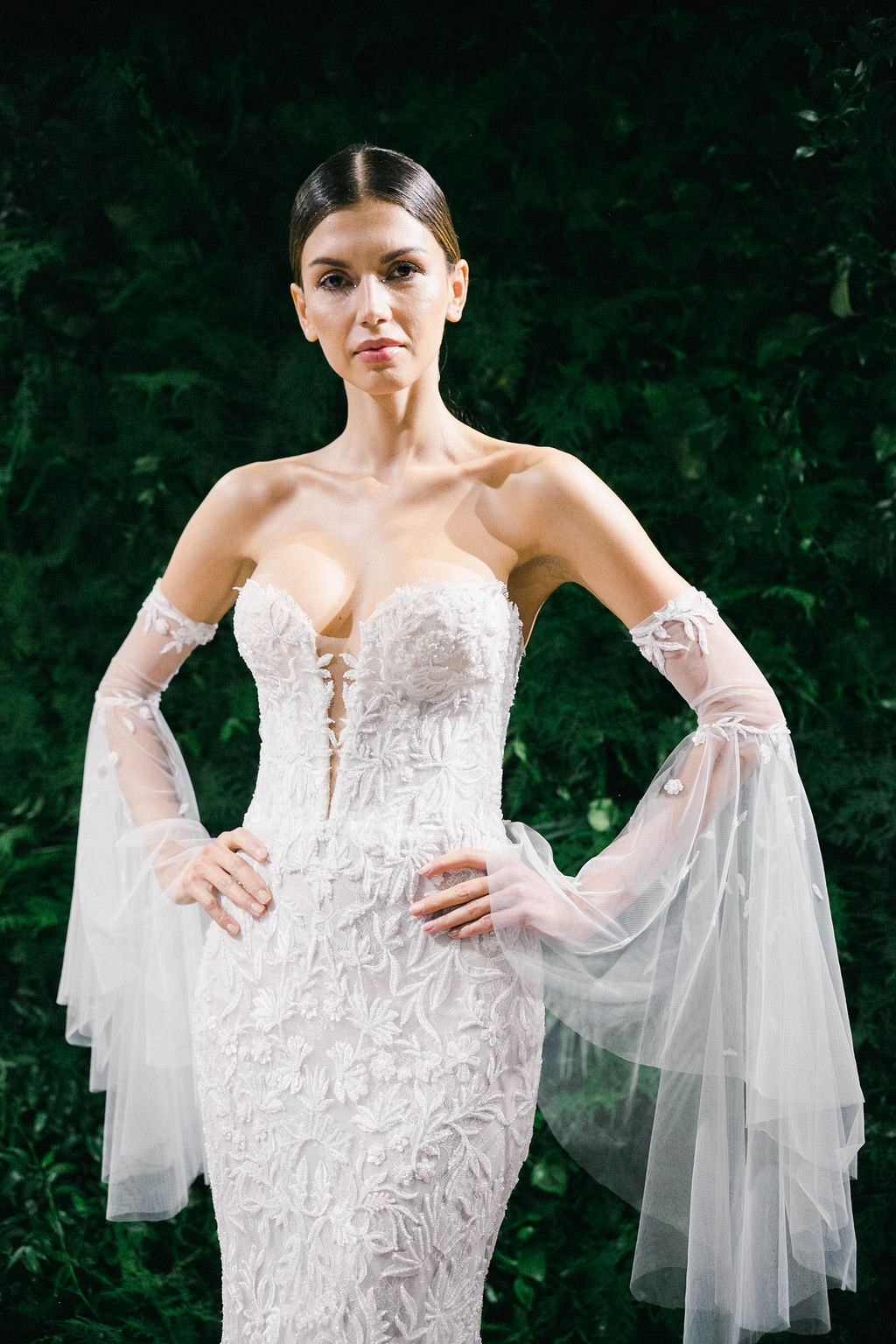 15 Best Lace Wedding Dresses from NYBFW 2018