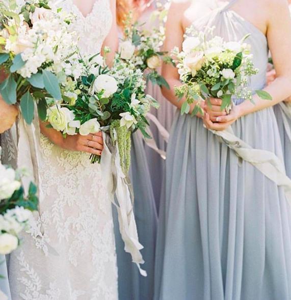 A Castle Photo - Wedding Sparrow fine art wedding blog - our favorite bridesmaid dresses