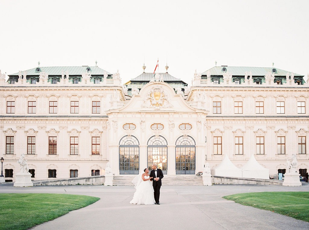 Black Tie Regal Viennese Wedding