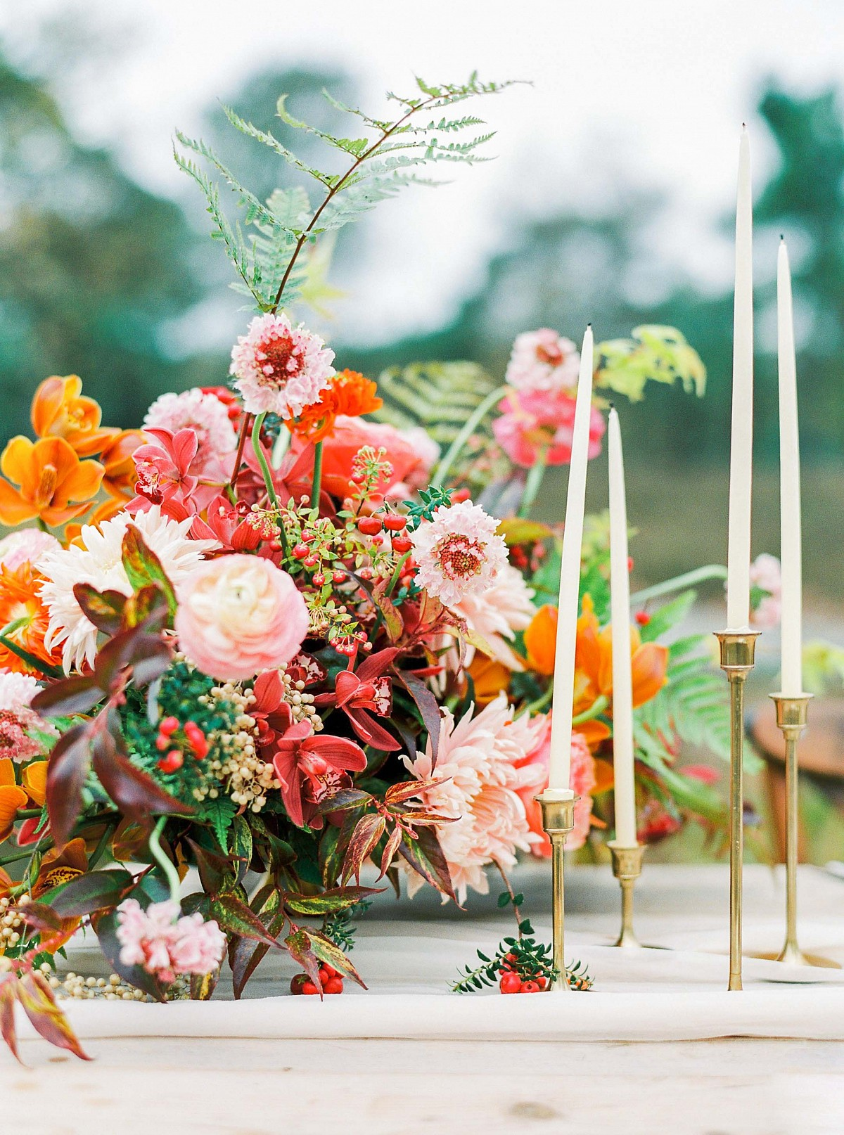 Romantic Autumnal Wedding Inspiration