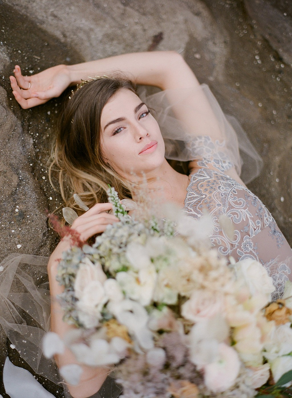 Dramatic Cliffside Bridal Session in Hawaii