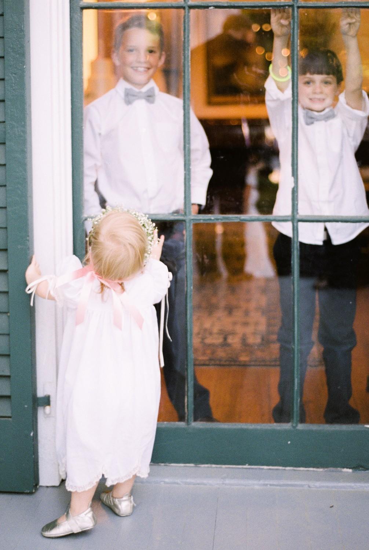 Ellen and Preston's Timeless Outdoor Wedding