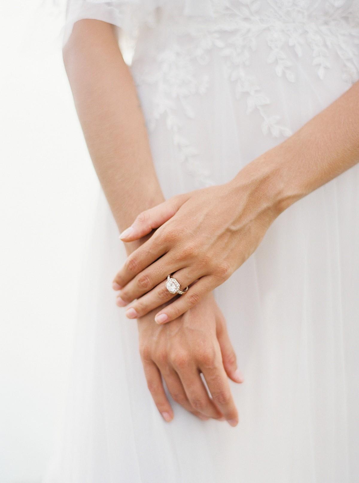 Bali Wedding Ideas with Colored Wedding Dress